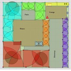 How To Layout An Underground Irrigation System Irrigation System Irrigation System Design Sprinkler System Design