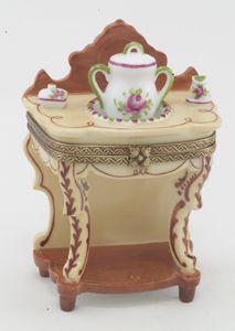 Limoges washstand box