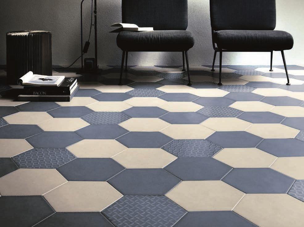Pavimento rivestimento in ceramica per interni ines by officina