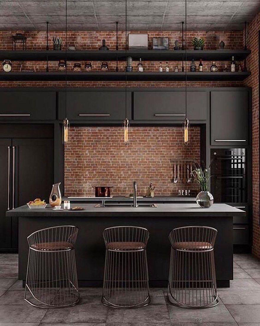 Pin De Patricia Melgar En Room En 2020 Diseno De Interiores De Cocina Cocinas De Casa Diseno De Interiores Industrial