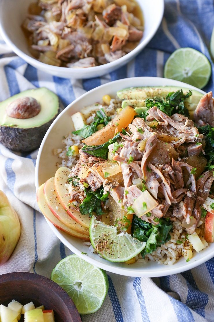 Crock Pot Pulled Pork And Apples Receta ~ Recetas Para Cena Romantica En Casa
