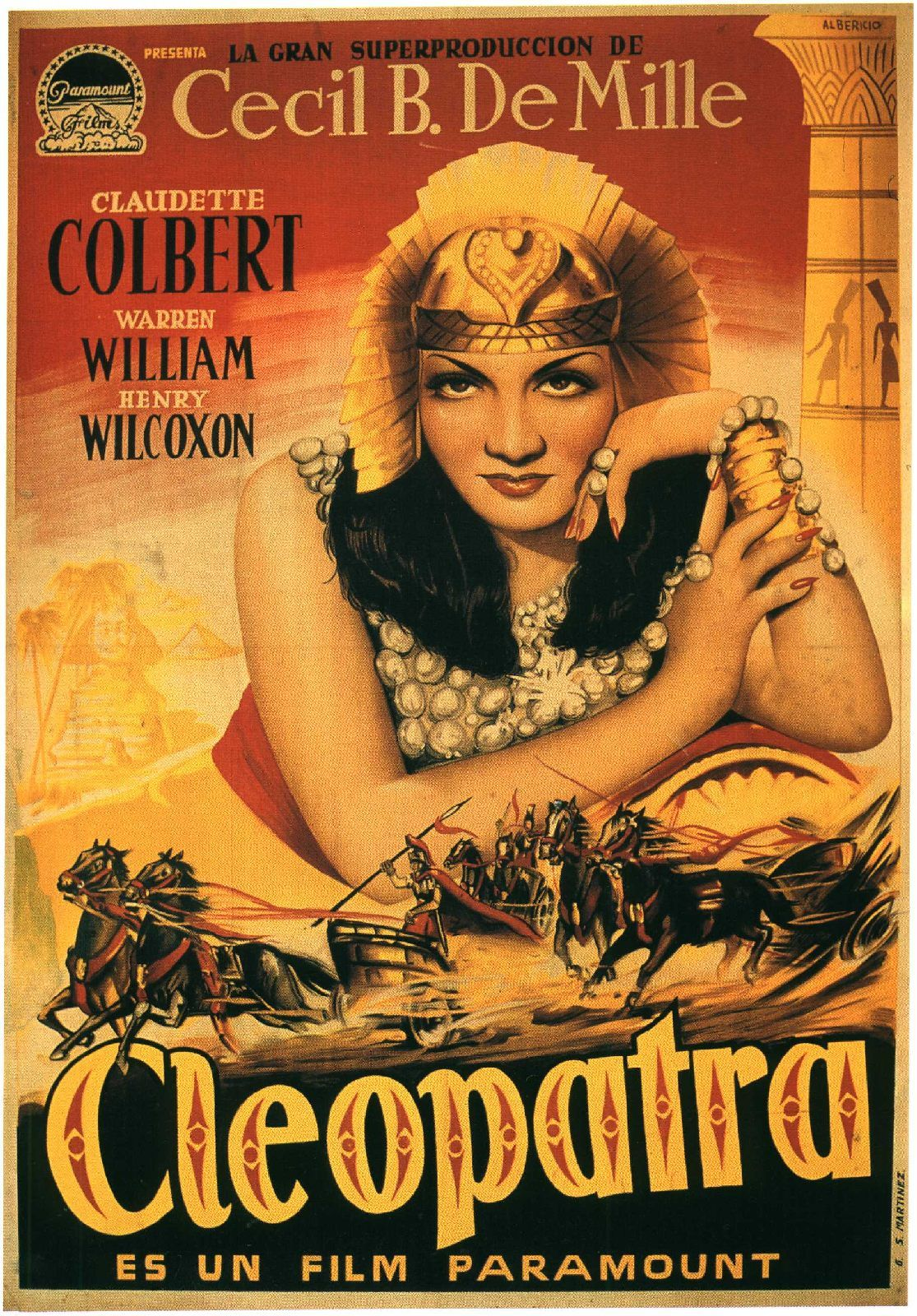 Cleopatra - Cecil Demille 1934 Movies Classic Movie