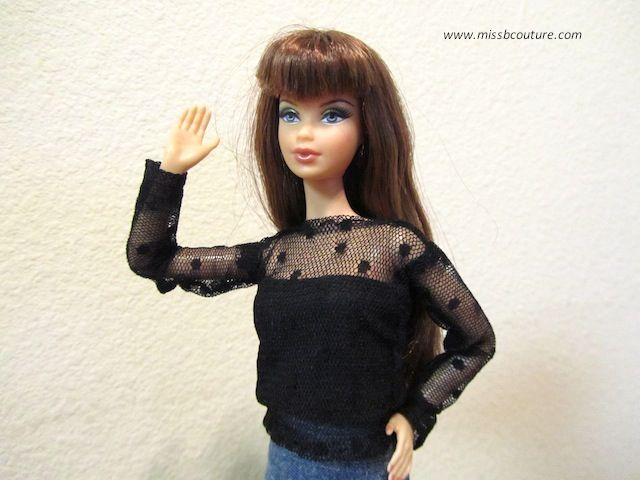 Miss B. Couture | Free Barbie doll clothes patterns ———- Patrons de ...
