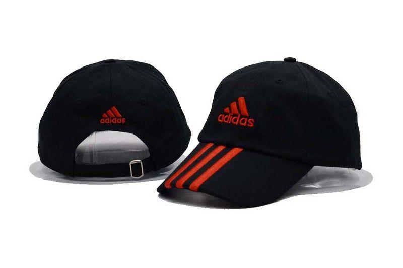 Men S Women S Adidas Training Performance 3 Stripes Adjustable Baseball Dad Hat Black Red Adidas Store Adidas Women Adidas Cap