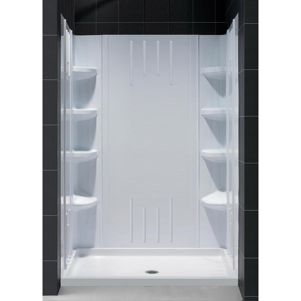 DreamLine SlimLine 36 in. x 48 in. Single Threshold Shower Base in ...