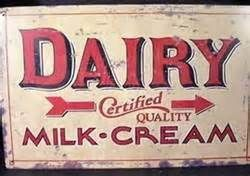 Vintage Dairy Sign Yahoo Image Search Results Avec Images