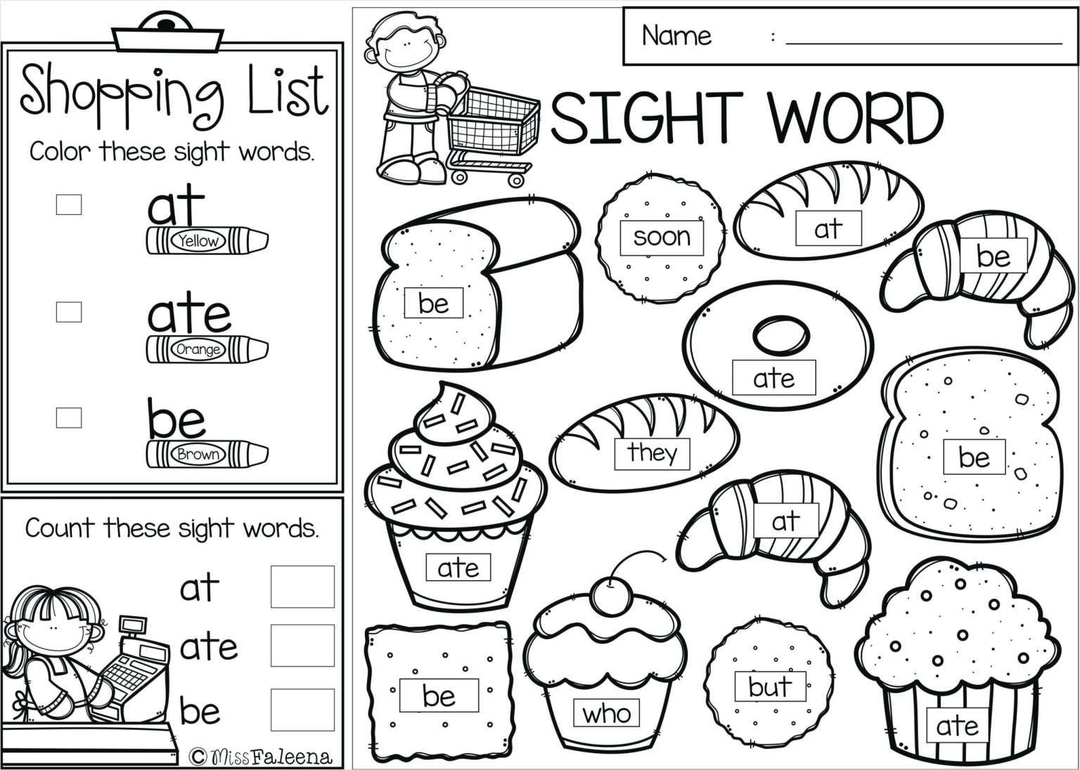 Worksheet On Myself For Kindergarten And Kindergarten