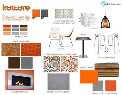 Interior Design Materials Kulture Frozen Yogurt Shop Commercial Creative Remodelling