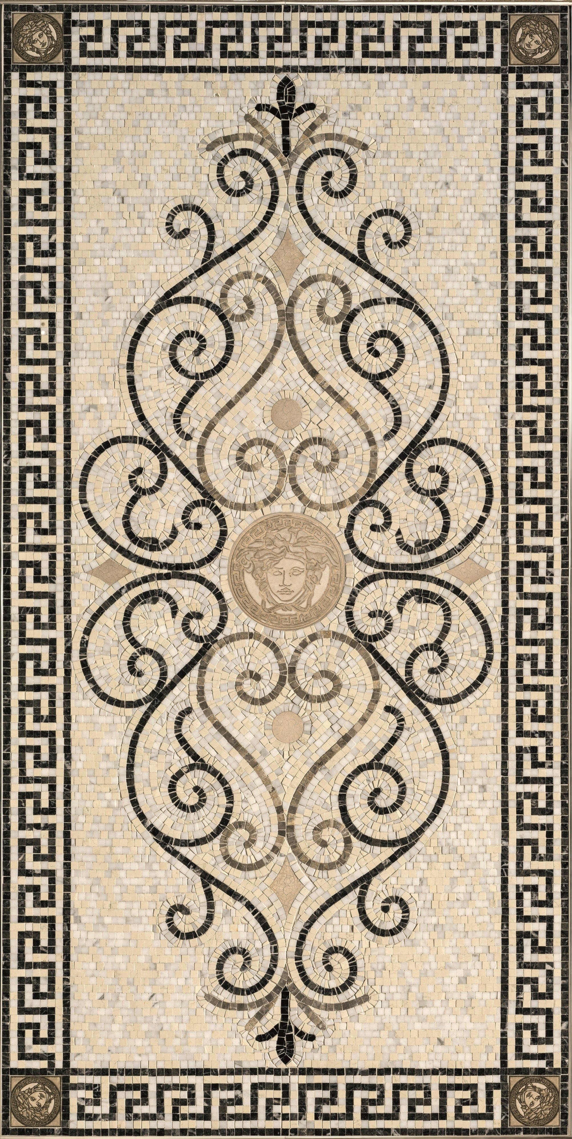 mozaika exclusive by versace ceramics