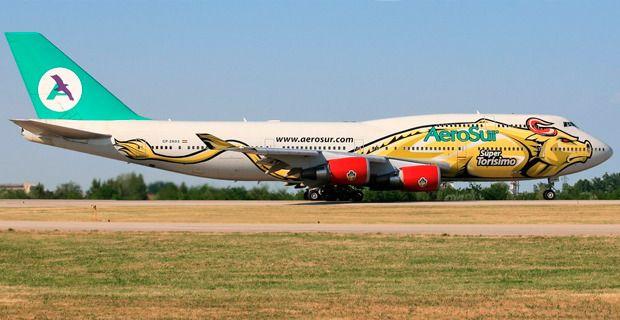 Aerolínea boliviana Aerosur suspende vuelos por dos días y
