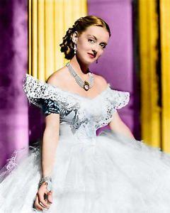 Bette Davis Color | Entertainment Memorabilia > Movie Memorabilia > Photographs > 2000-Now ...