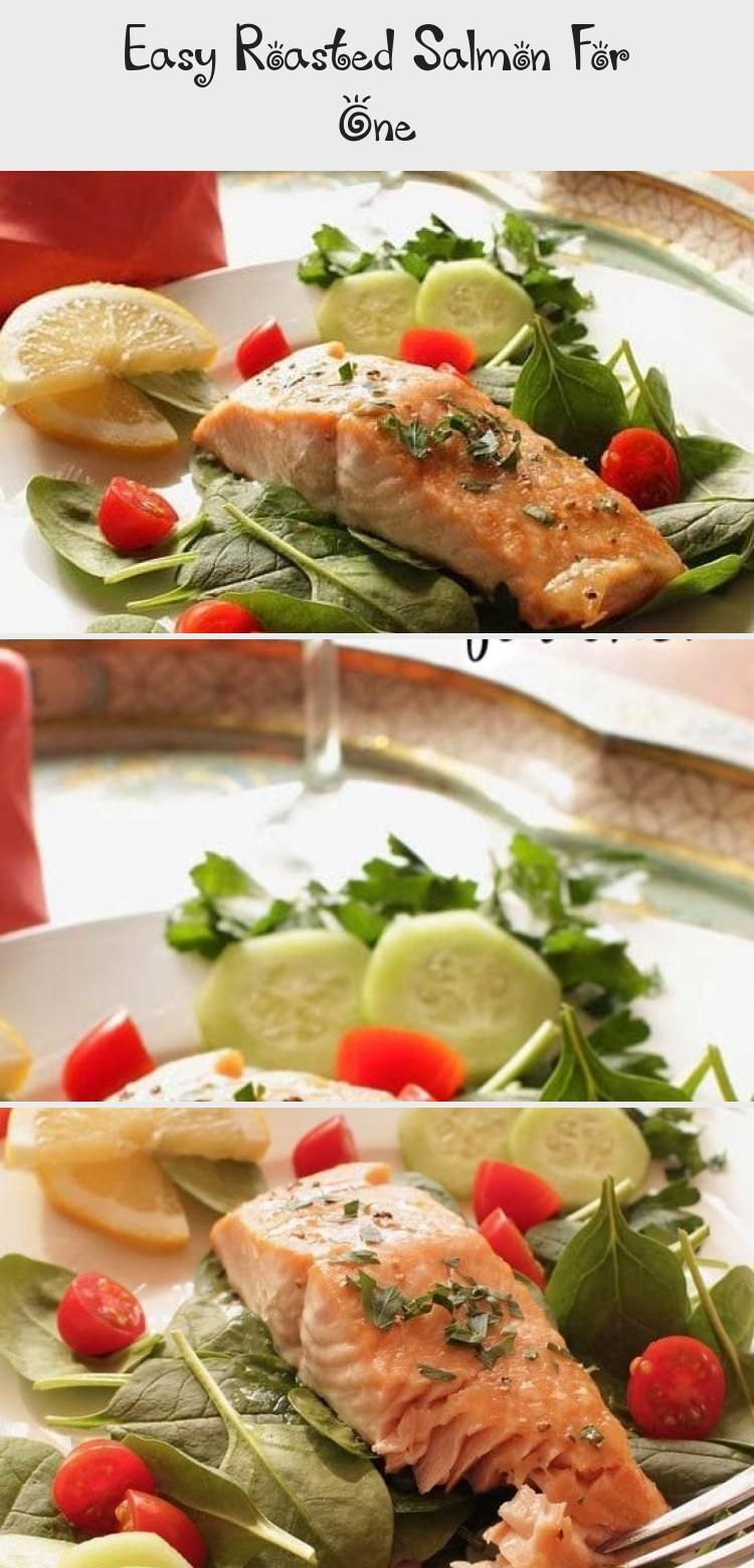 Photo of An easy to make roasted salmon recipe that can can be ready in 30 minutes! A sal…