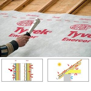 Prefabricated Polymer Membrane Tyvek Enercor E Airguard Reflective Dupont De Nemours Italiana Dupont Protectionsolutions