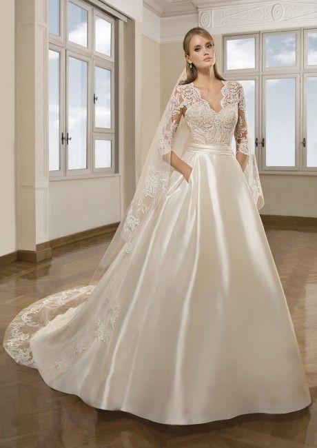 Vestidos de novia colección 2017 - Maria Salas Novias | wedding ...