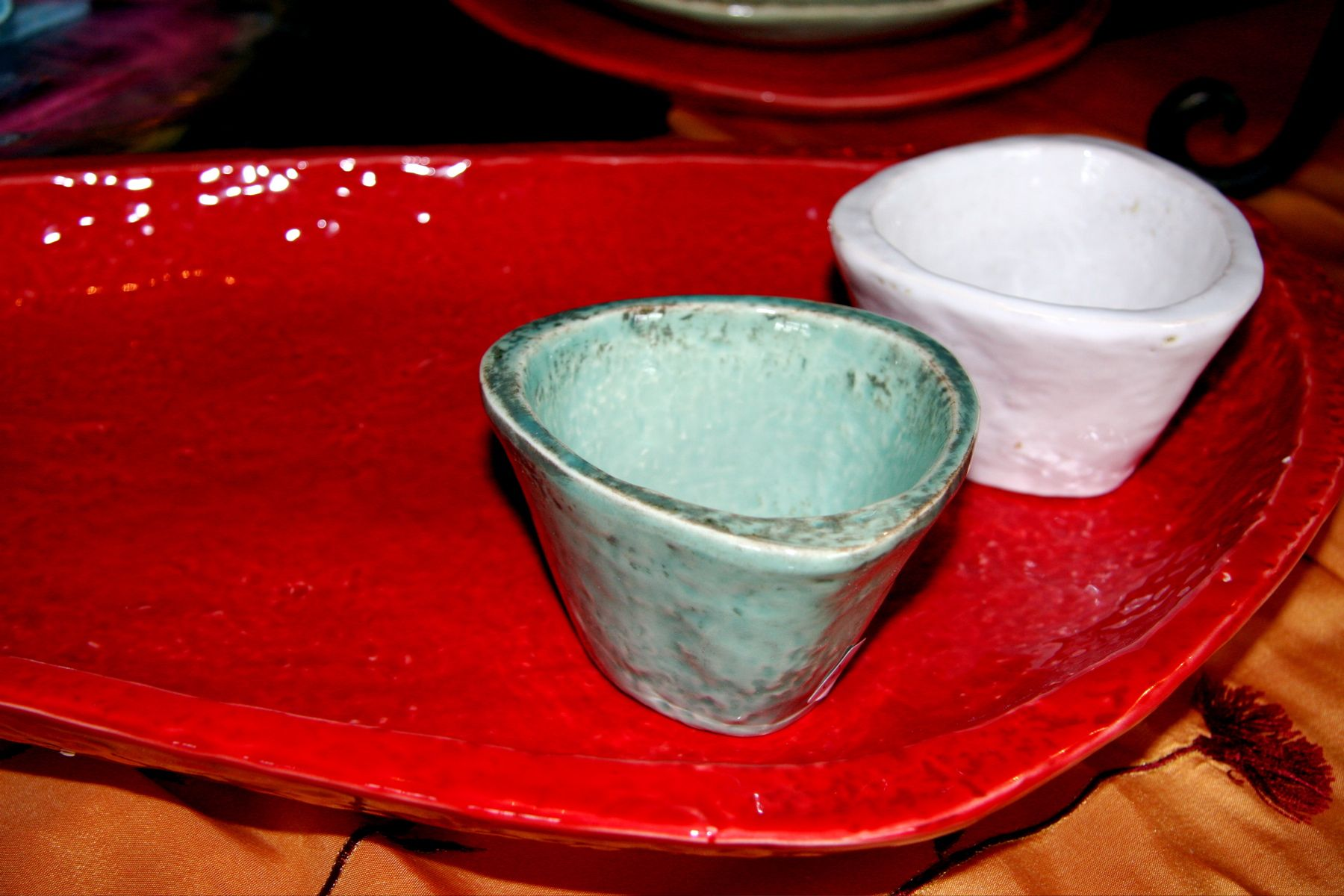 Fortunata Pottery....simply beautiful! Casa Mia dinnerware Handmade Italian Ceramics