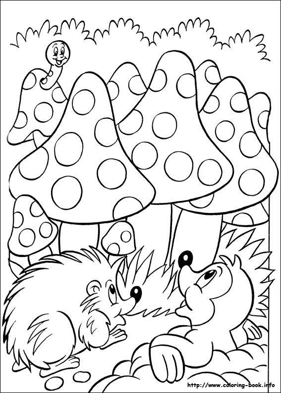 Egel Eekhoorn Kleurplaat Het Is Bijna Herfst 5 X Mooie Herfstkleurplaten Voor