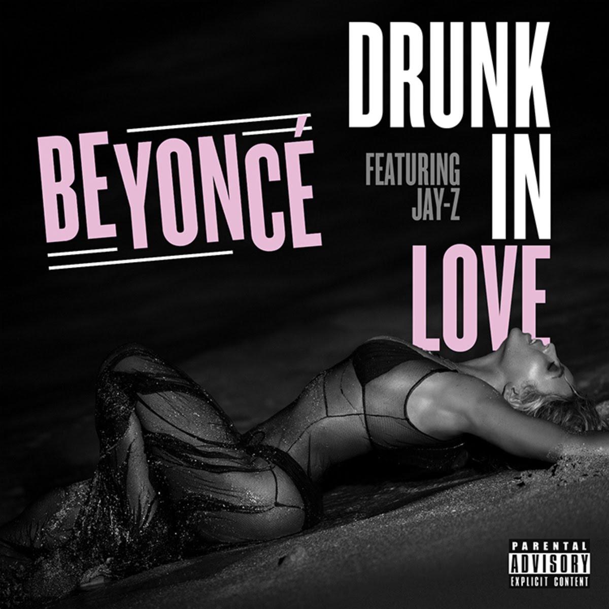 Beyoncé, Jay-Z – Drunk in Love (single cover art)