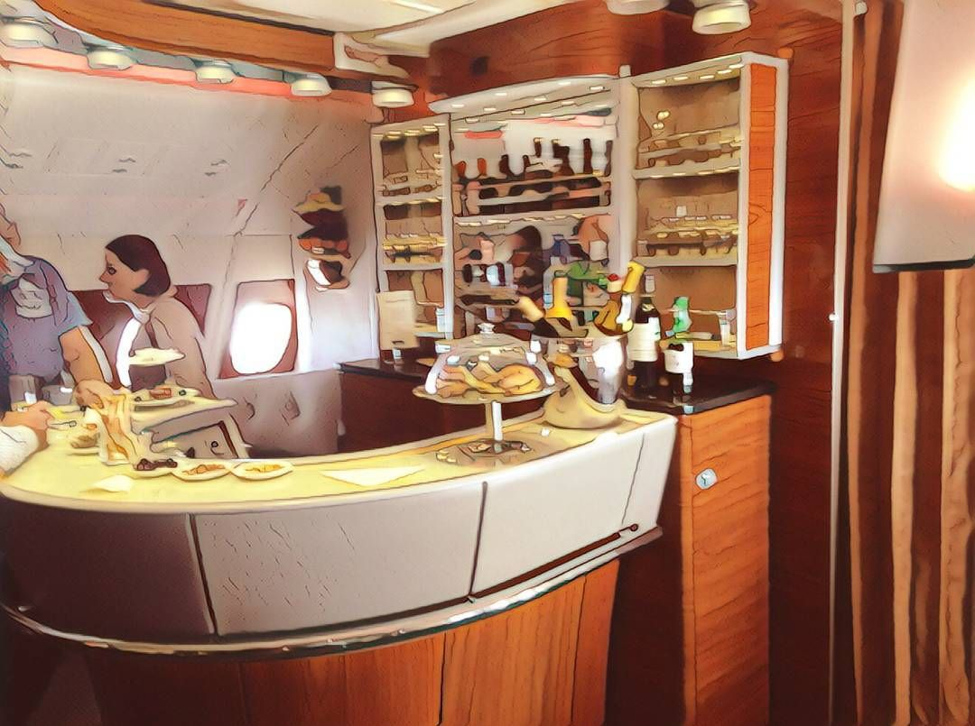 travelhack When flying Emirates A380 Business Class
