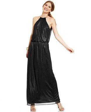 Black Formal Dresses Macys Cocktail Dresses Dresses Halter