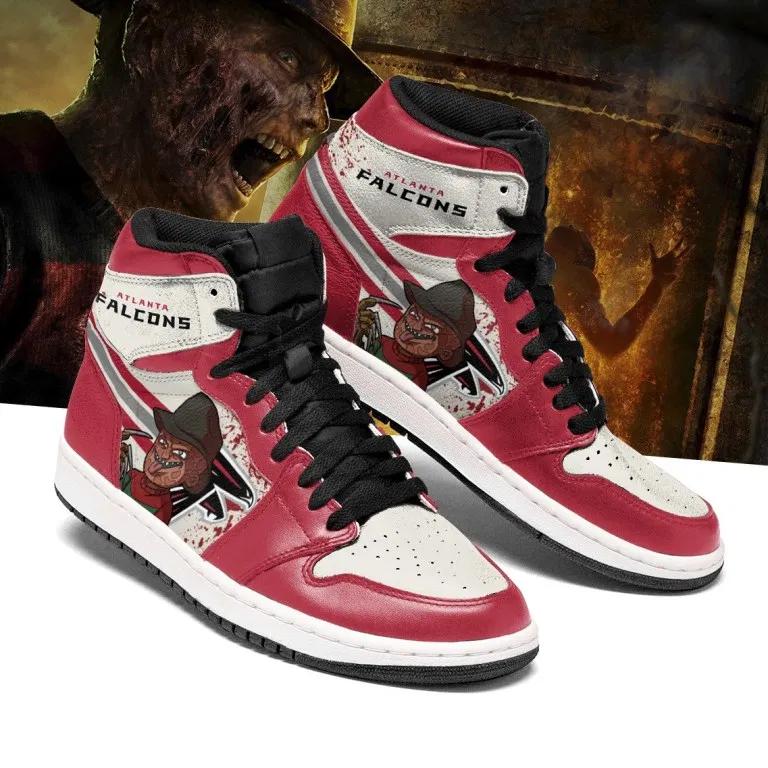 Nfl Atlanta Falcons Horror Jordan Sneakers For Fan Sneakers Me Too Shoes Atlanta Falcons