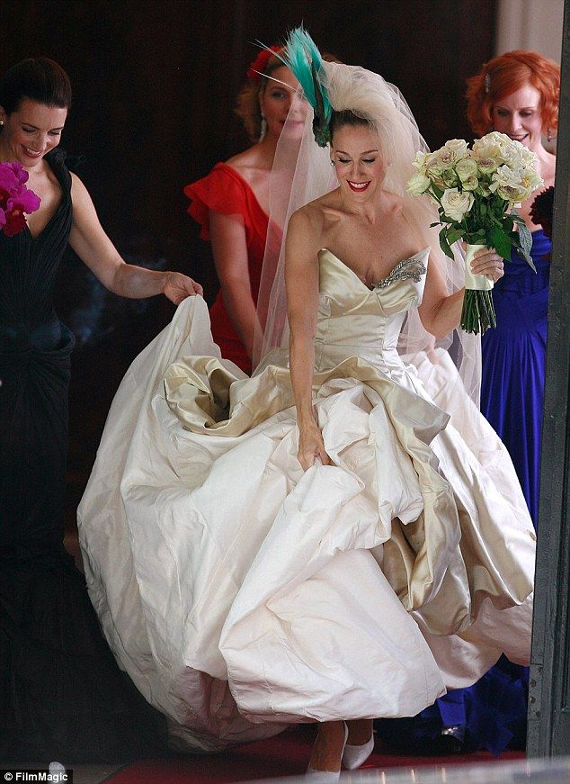 Sarah Jessica Parker Launches New Satc Style Bridal Shoe Collection