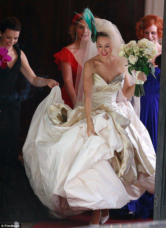 Sarah Jessica Parker Launches New Satc Style Bridal Shoe