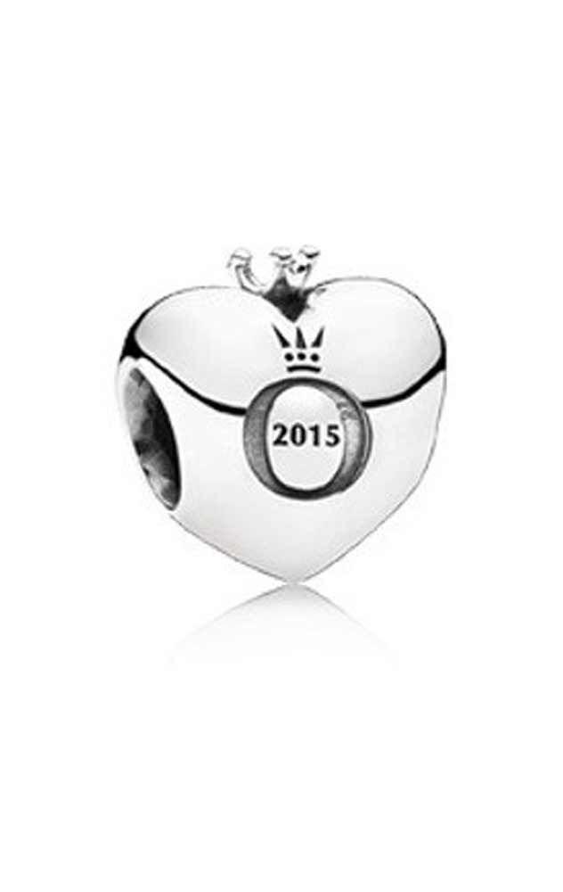 abalorios pandora plata de ley corazon