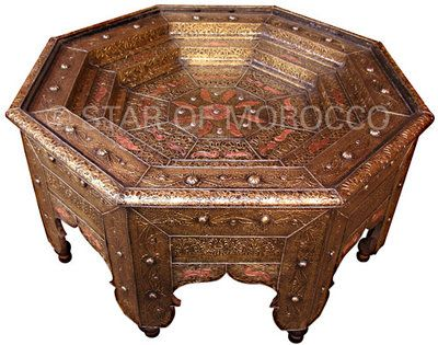 Awesome Marrakech Brass Table