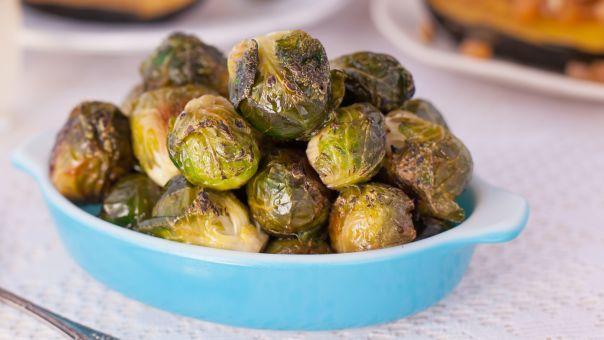 Oven Roasted Brussels Sprouts Recipe  - Food.com #brusselsproutrecipes