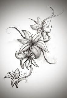 Plantillas O Disenos Tatuajes Tatuajes Florales Tatuajes