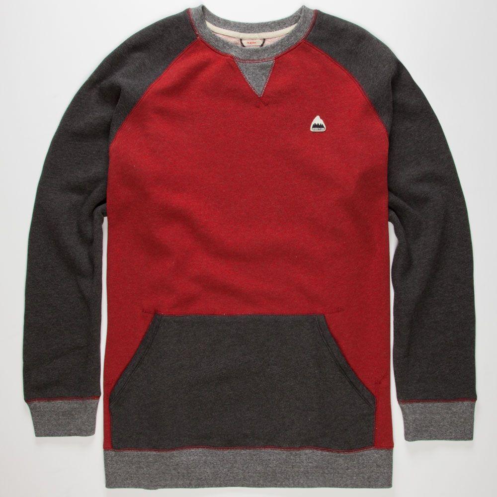 BURTON Ryland Mens Sweatshirt 243451126   Sweatshirts