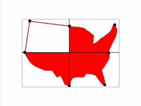 How To Draw A Map Of The United States Of America YouTube - Outline of the us map
