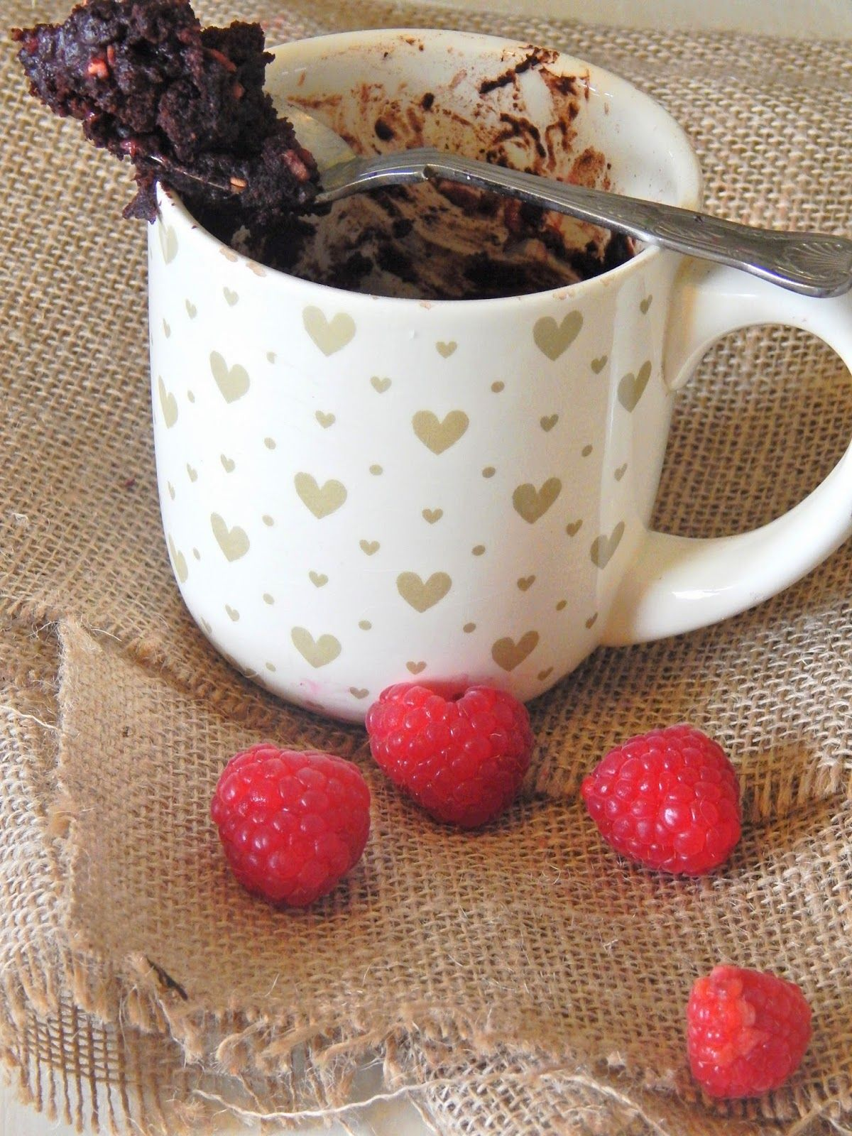Little Miss Meat-Free: Two- Minute Chocolate Raspberry ...