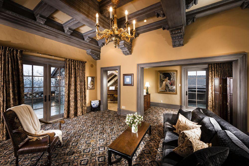 The Dromborg     Fayetteville, Arkansas Media Room Ideas, Wood Beams, Man  Cave, Staging, Interior Design, Castle, Gold U0026 Grey, #realestate #dromborg  ...