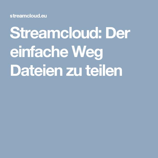 Von Streamcloud Downloaden