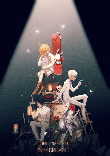 Yakusoku no Neverland (1448x2048 456 kB.) imagens