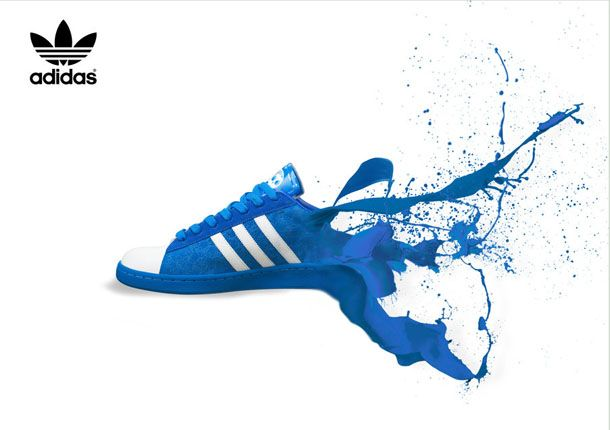 Adidas Shoes Poster - Example of a Product Poster