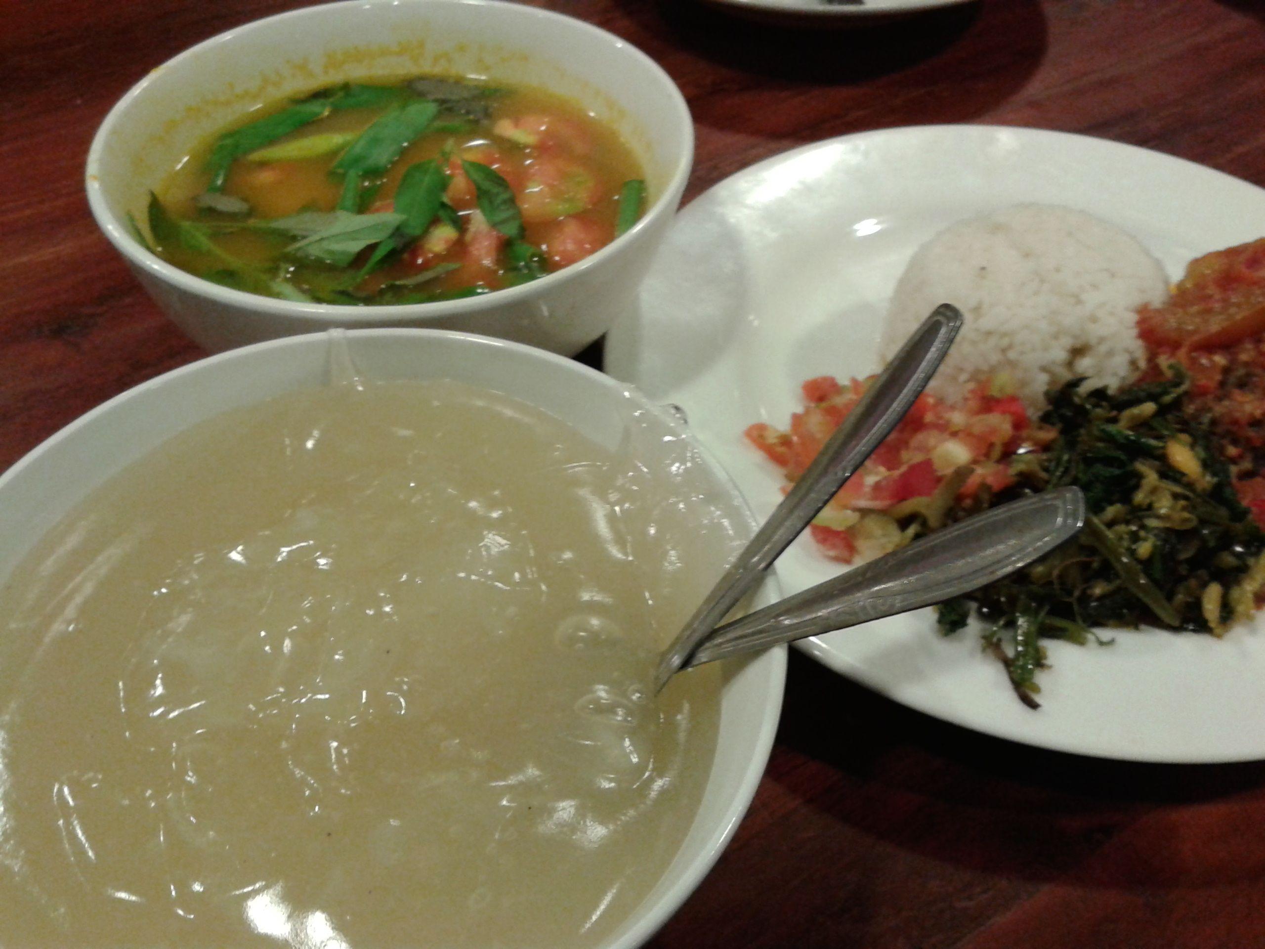 Masakan Khas Papua Papeda Dan Ikan Kuah Kuning Like Yummy