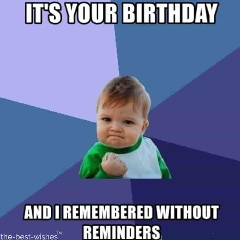 Top 100 Funniest Happy Birthday Memes Most Popular Success Kid Catholic Memes Birthday Meme