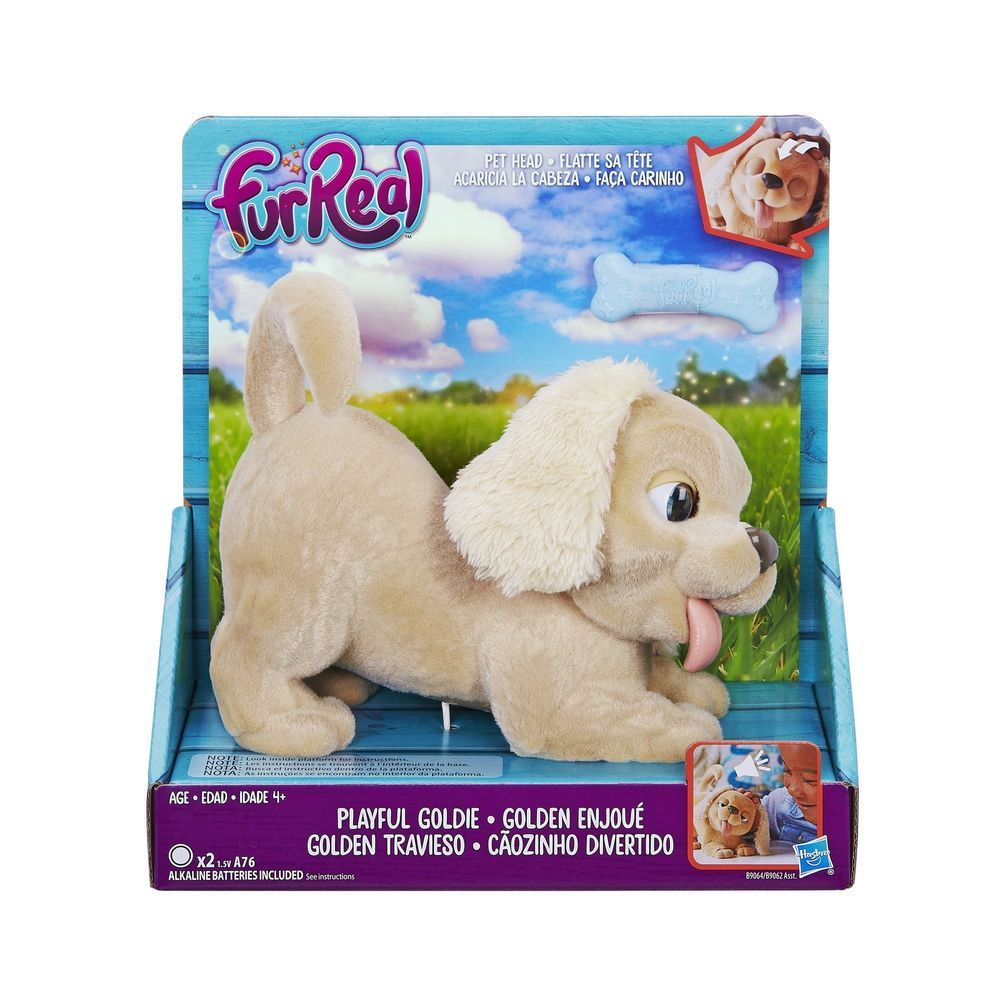 New Real Friends Get Up And Gogo Pet Soft Plush Interactive Dog