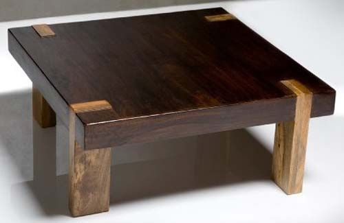 Thick Wood Coffee Table Wtih Bronze Legs | DIY Furniture | Pinterest | Wood  Coffee Tables, Coffee And Woods