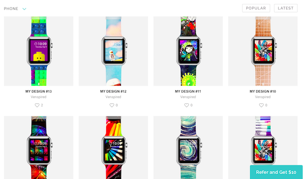 Purchase Or Design Your Own Custom Apple Watch Bands Using Casetify