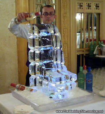 Vodka Ice Slide 4dasm Ice Luge Ice Sculptures Ice