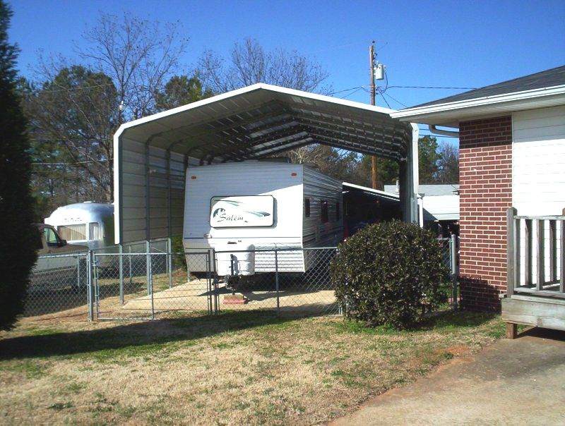 Pin On Rv Carports Rv Shelters Motor Home Covers