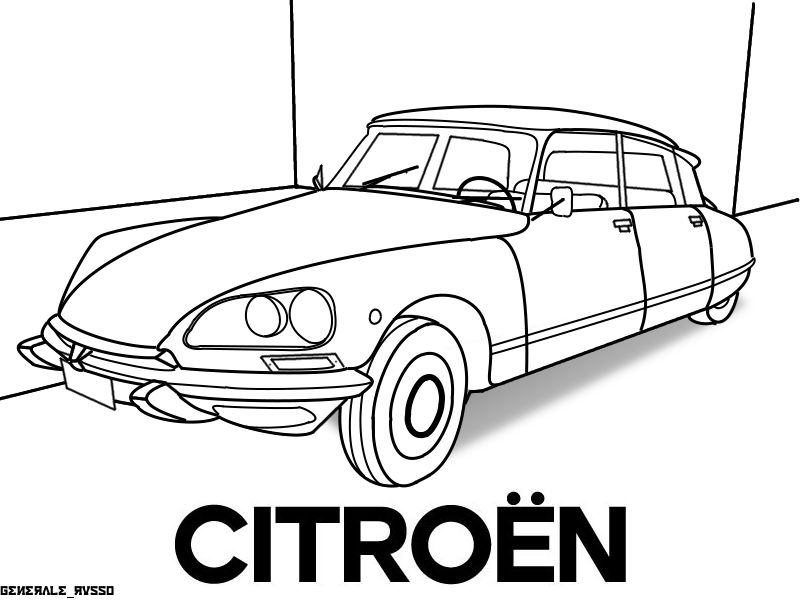 Citroen DS by GeneraleRusso on DeviantArt | Stencil | Pinterest ...