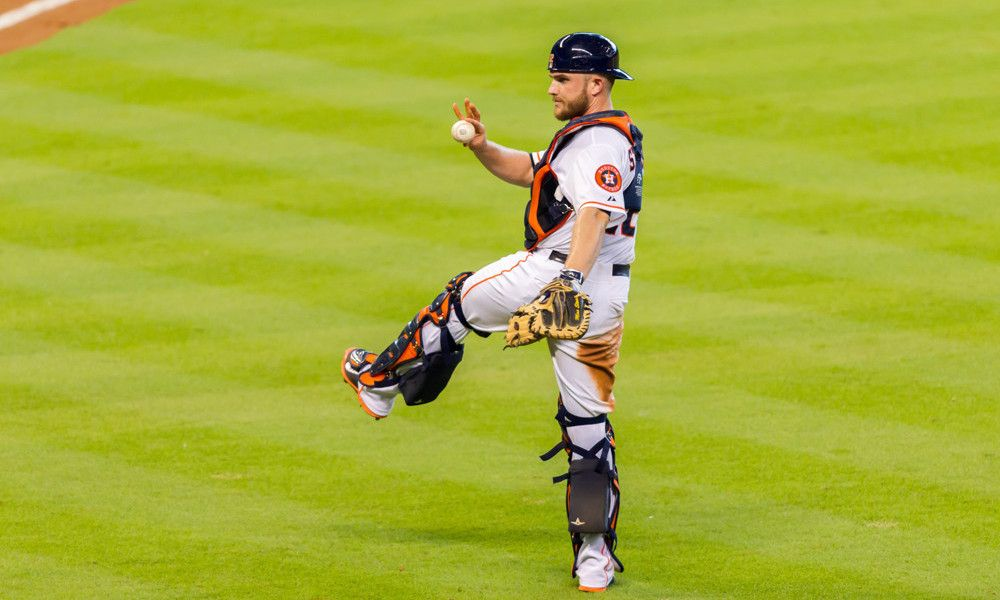 Astros' Options At Catcher With Stassi Out TKB Astros