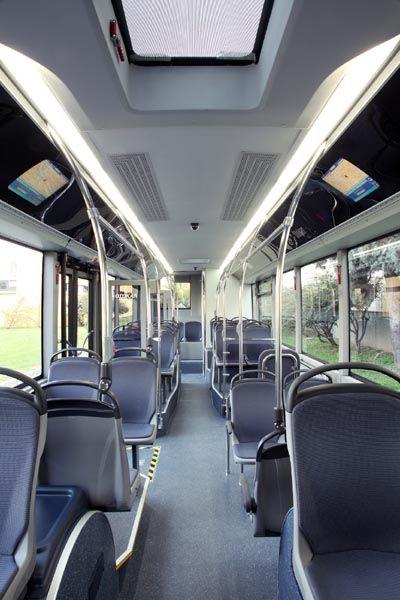 Otokar Transport Bus Interior Modern Bus Interior Transportation Design Luxury Train