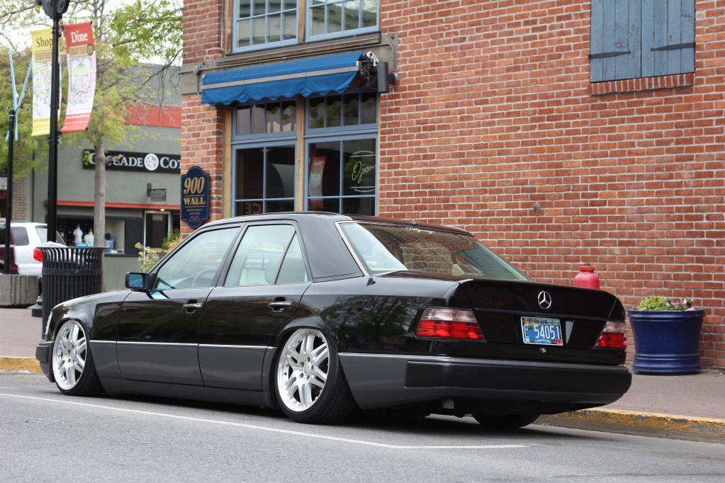 Keepin It Classy Bagged W124 Stanceworks