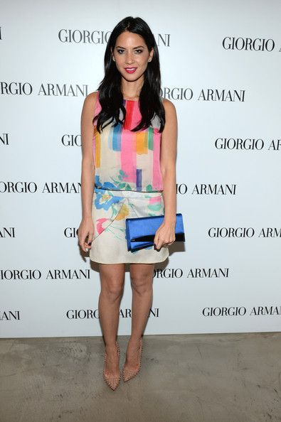 Olivia Munn attends the Giorgio Armani Beauty Luncheon  in Beverly Hills