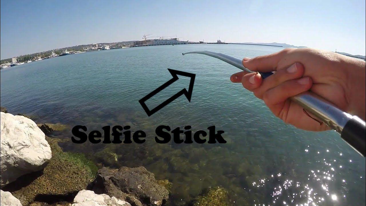 Selfie Stick Fishing Challenge Https Youtu Be Gjkmxvzg